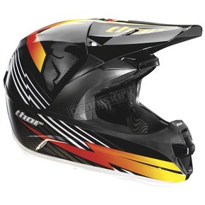 Thor Force Livewire Black/Red Helmet - 0110-2423
