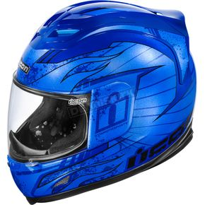Icon Airframe Lifeform Blue Helmet - 0101-4924