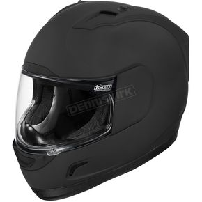 Icon Black Rubatone Alliance Helmet - 01014