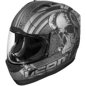 Icon Black Rubatone Alliance Tyranny Helmet - 01015
