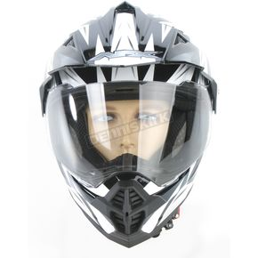 AFX Pearl White Multi FX-39DS Dual Sport Helmet - 0110-2496