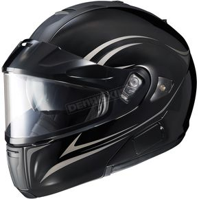 HJC Black/Silver Raptor IS-MaxSN BT Modular Raptor Helmet - 961-956