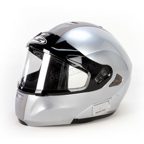 HJC Silver Metallic IS-MaxSN BT Modular Helmet - 959-576
