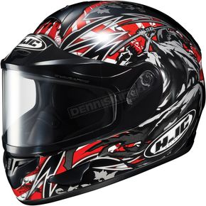 HJC Black/Red CL-16SN Slayer Helmet - 911-912