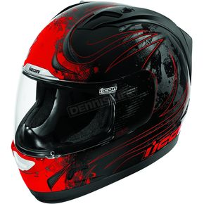 Icon Red Alliance Threshold Helmet - 01015432
