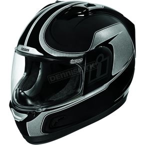 Icon Black Alliance Reflective Helmet - 01015522