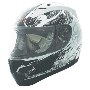 CKX Black/White RR601 Spirit Helmet - 110131