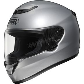 Shoei Helmets Qwest Light Silver Metallic Helmet - 0115-0107-05