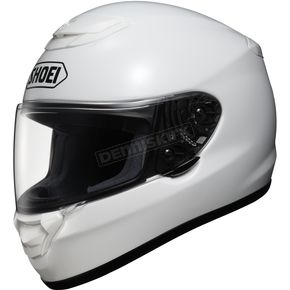 Shoei Helmets Qwest White Helmet - 0115-0109-07