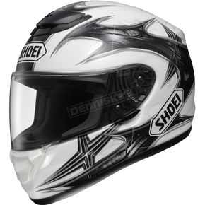 Shoei Helmets White/Black/Silver Neuron Qwest Helmet - 0115-0606-08