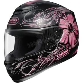 Shoei Helmets Qwest Goddess Black/Pink Helmet - 0115-3407-07