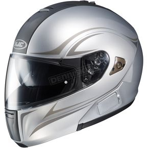 HJC Silver IS-Max BT Modular Helmet - 960-902
