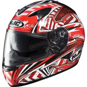 HJC IS-16 Red Specter Helmet - 568-912