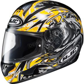 HJC Black/Yellow CL-16 Slayer Helmet - 910-936
