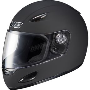 HJC Youth CS-Y Matte Black Helmet - 842-612