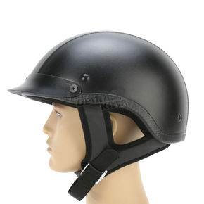 Rodia Leather Shorty Helmet - 100L-XL