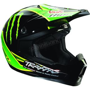 Thor Black/Green/Yellow Quadrant Pro Circuit Helmet - 01102784