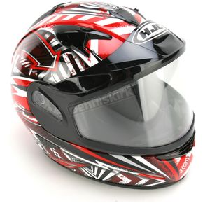 HJC Red/Black/White IS-16 SN Specter Helmet - 569-916
