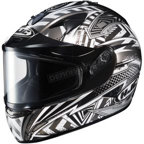 HJC Silver/Black/White IS-16 SN Specter Helmet - 569-954