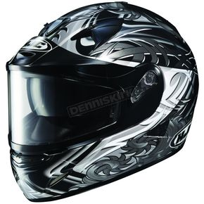 HJC Black/White/Silver IS-16 SN Othos Helmet - 571-954