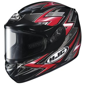 HJC CS-R2 SN Thunder Red Multi Helmet - 211-916