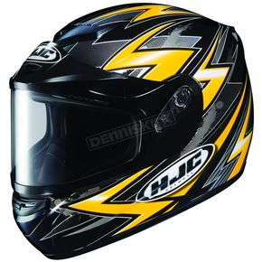 HJC CS-R2 SN Thunder Yellow Multi Helmet - 211-936