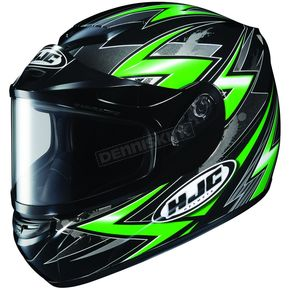 HJC CS-R2 SN Thunder Green Multi Helmet - 211-946