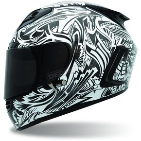 Bell Helmets Star Cerwinske Carbon Artists Series Helmet - Convertible To Snow - STAR-CERWINSKE