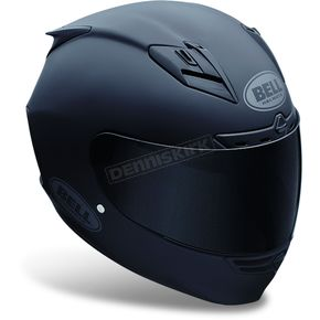 Bell Matte Black Star Solid Helmet - Convertible To Snow - 2017553