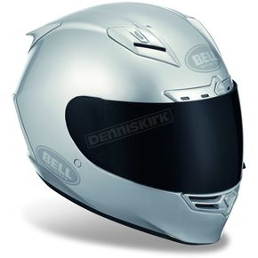 Bell Metallic Silver Star Solid Helmet - Convertible To Snow - 2017557