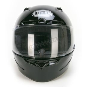 Bell Gloss Black Vortex Helmet - Convertible To Snow - 2017623