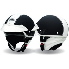 Bell Black Shorty Rally Half Helmet - 2017736