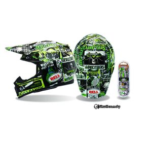 Bell Helmets Moto 9 Skull Candy Scream - Convertible To Snow - 2028399