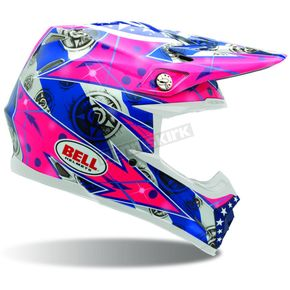 Bell Moto 9 Unit Hot Pink - Convertible To Snow - 2028406