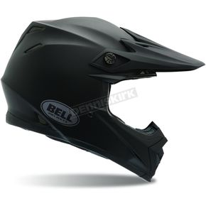 Bell Moto 9 Matte Black Solid - Convertible To Snow - MOTO-9