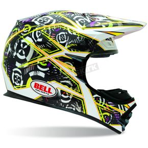 Bell MX-2 Yellow Vibe Helmet - Convertible To Snow - 2021928