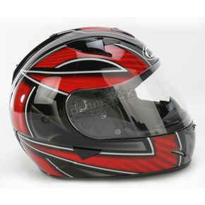 HJC IS-16 Red/Black/White Ramper Helmet - 572-916
