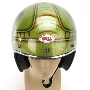 Bell Green Multi Custom 500 Skratch Lace Helmet - CUSTOM 500