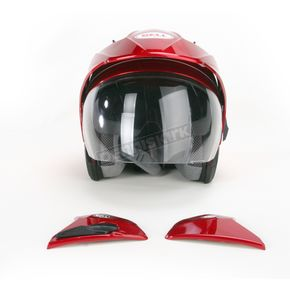 Bell Helmets Candy Red Mag-9 Helmet - MAG-9