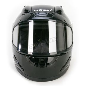 Mossi Black Full Face Helmet - 3668315L