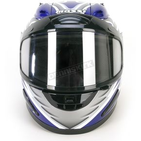 Mossi Blue Full Face Helmet - 36683B15L