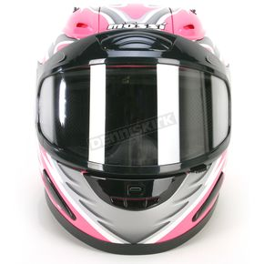 Mossi Pink Full Face Helmet - 36683P16XL