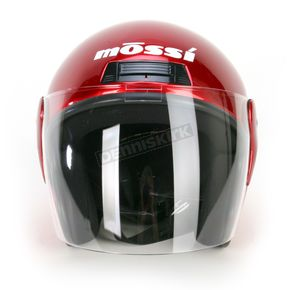 Mossi Red Raider Flip Shield Helmet - MOS613RL