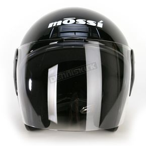 Mossi Black Raider Flip Shield Helmet - MOS613XL
