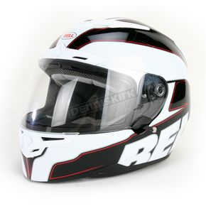 Bell Black/White RS-1 Emblem Helmet - 2036612