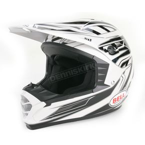 Bell Helmets Silver/Black SX-1 Switch Helmet - 2036746