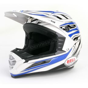 Bell Silver/Blue/Black SX-1 Switch Helmet - 2036758