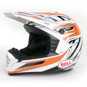 Bell Helmets Silver/Orange/Black SX-1 Switch Helmet - 2036776