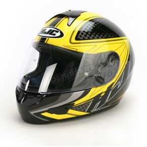 HJC Black/Yellow/Black Voltage CL-16 Helmet - 918-936