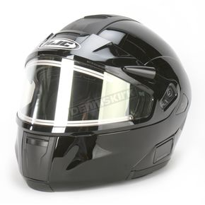 HJC Black IS-MAX BTSN Helmet w/Electric Shield - 059-606